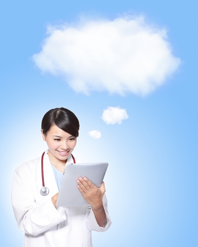 Cloud based services are growing in the health care industry.